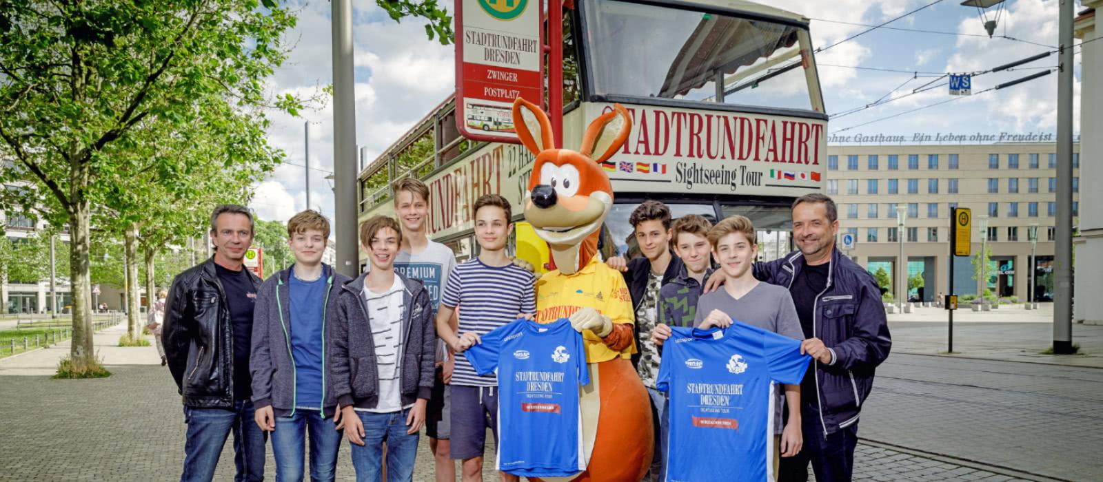 Kindertour durch Dresden