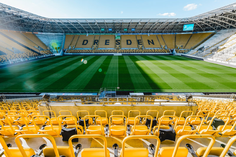 Führung Rudolf-Harbig-Stadion