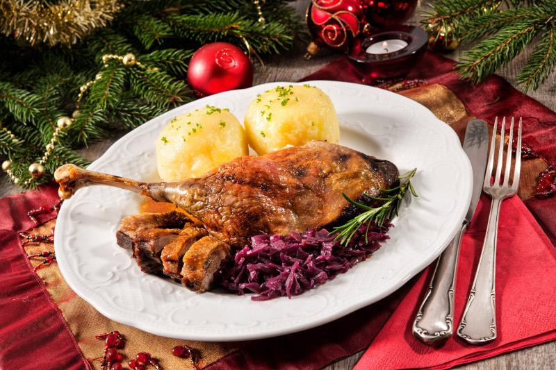 Weihnachtsmenü im Schlossrestaurant Pillnitz