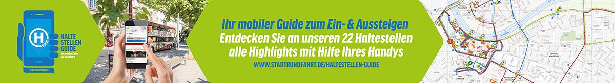 Ihr mobiler Haltestellen-Guide für unterwegs