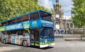 Stadtrundfahrt Dresden - mit den Doppeldeckern der Original Stadtrundfahrt Dresden GmbH Hop on Hop off Dresden entdecken!