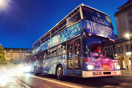 Hochzeitsbus in Dresden zur Miete